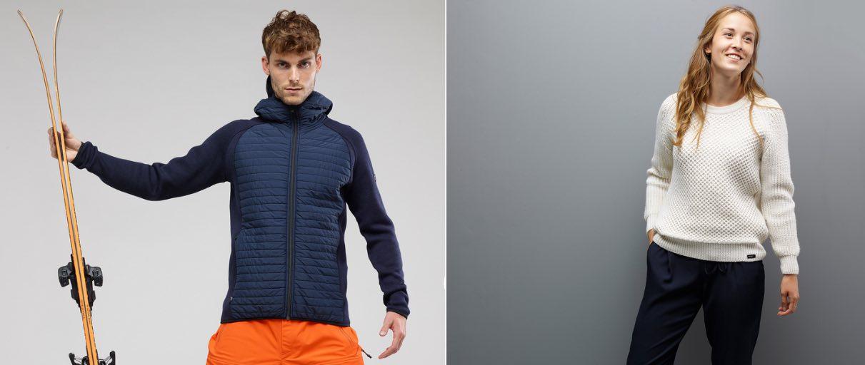 Henjl : pulls et vêtements techniques homme et femme fabriqués en France.