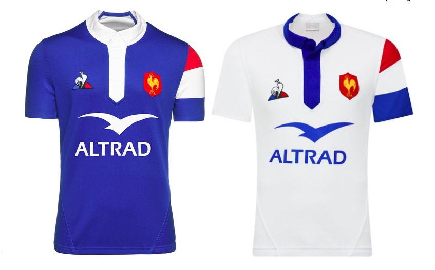 Un maillot made in France pour les équipes de France de rugby.