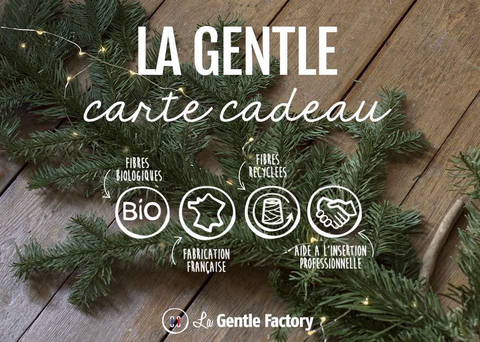 Présent made in France : pourquoi pas une carte cadeaux La Gentle factory