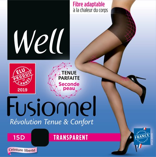 Collants Well, made in France.