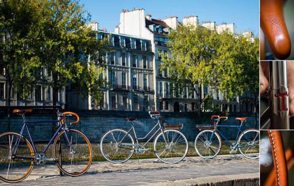 Maison Tamboite, vélo de luxe fabriqué sur mesure à Paris