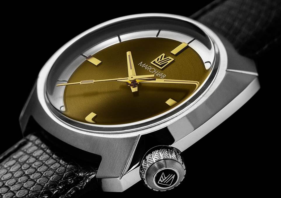 En plus d'être originales, les montres March La.B sont assemblées en France.