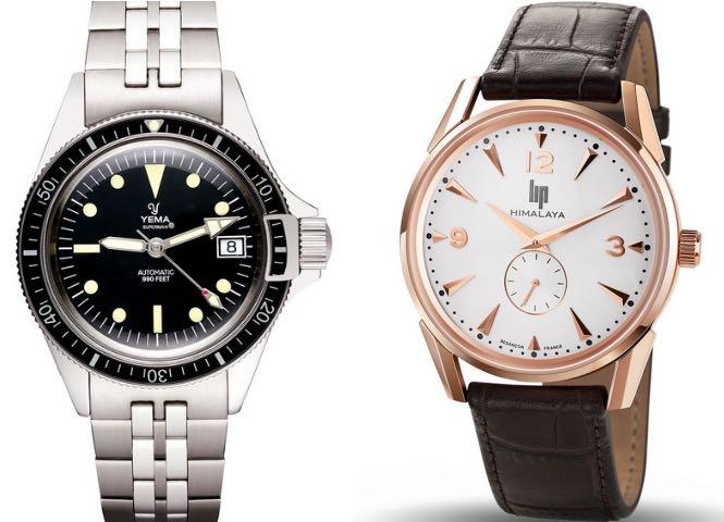 Petit guide des montres assemblées en France