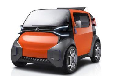 Ami One Concept : l'automobile urbaine selon Citroën