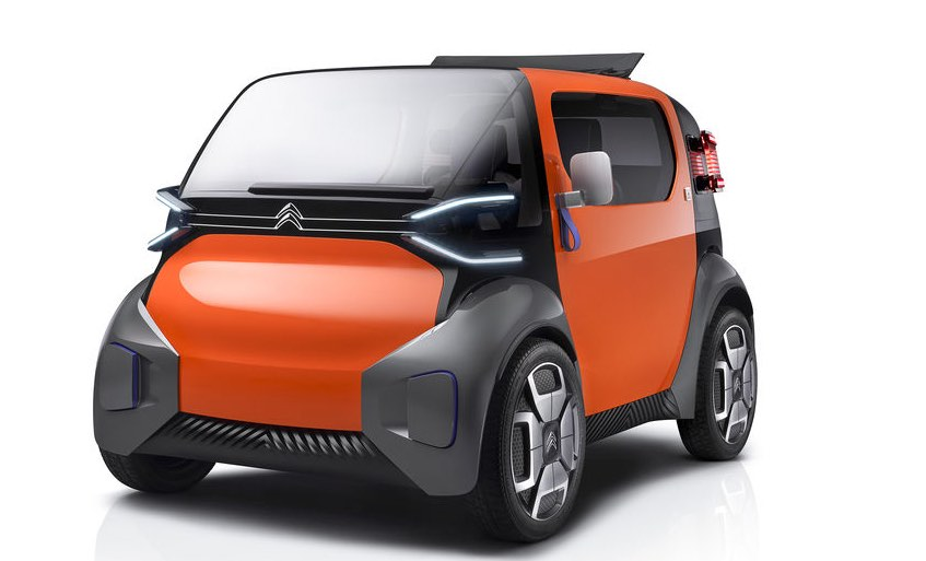 Ami One Concept : l'automobile urbaine selon Citroën