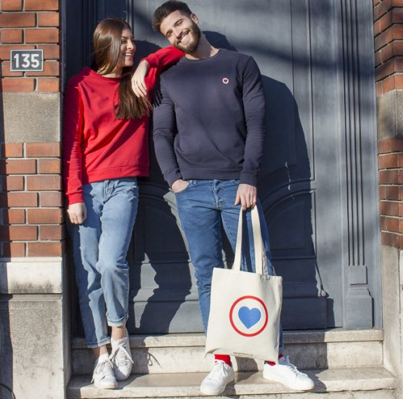 "La Gentle Factory : une capsule ""made in France"" pour la Saint-Valentin"