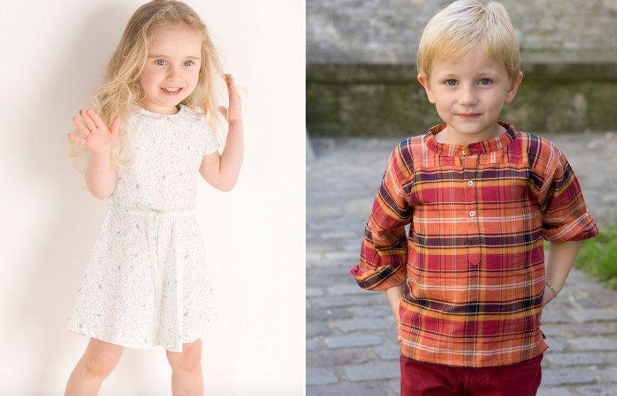 Marie Puce, vêtements et accessoires pour bébé, enfant et jeune-fille en grande partie made in France.