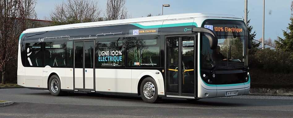 La RATP a commandé 800 bs électriques fabriqués en France.