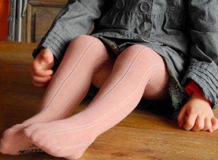 Collants enfants fabriqués en France.