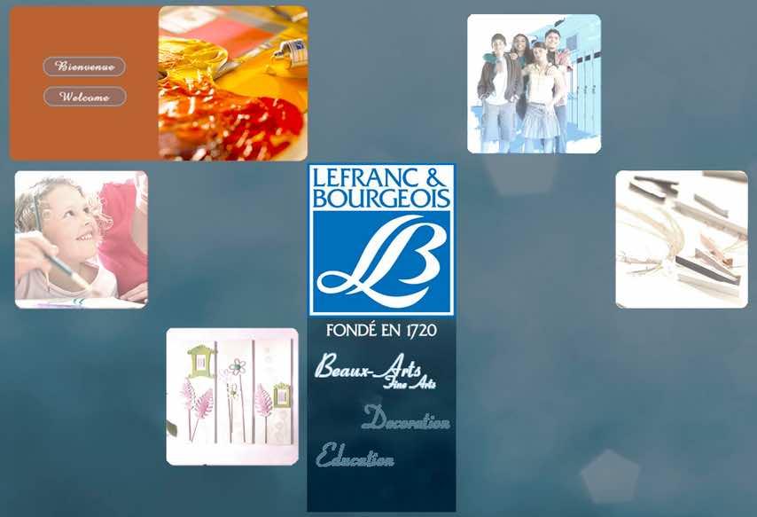 Lefranc & Bourgeois fabrique en France une partie de ses fournitures de peinture.
