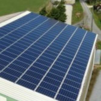 Panneaux solaires fabriqués en France.