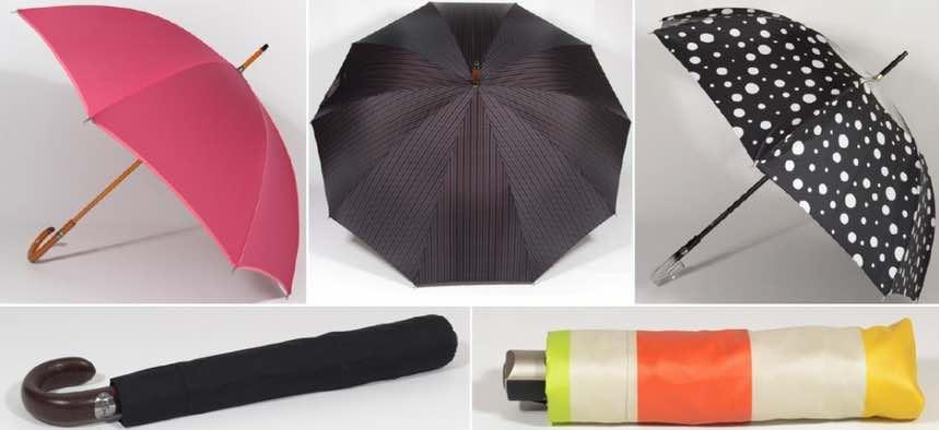 Parapluies fabriqués en France.