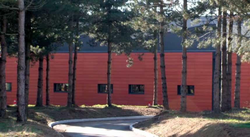 Usine de fabrication de l'entreprise Body Nature, en France.