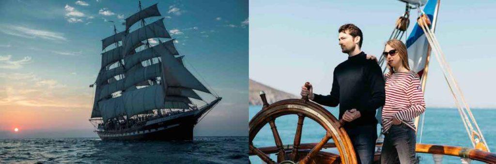 Partenaire du Belem depuis 2013, Dalmard Marine sort cette année une première collection capsule avec le célèbre bateau école à l'occasion de l'Armada, qui se déroule à Rouen jusqu'au 16 juin 2019.