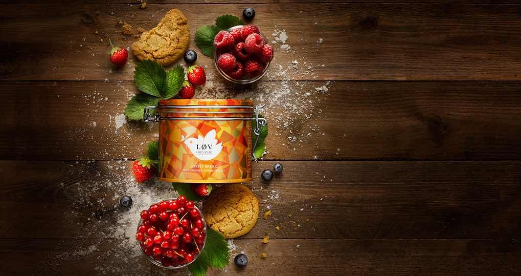 Løv Organic compose et fabrique en France un large choix de thés et infusions.