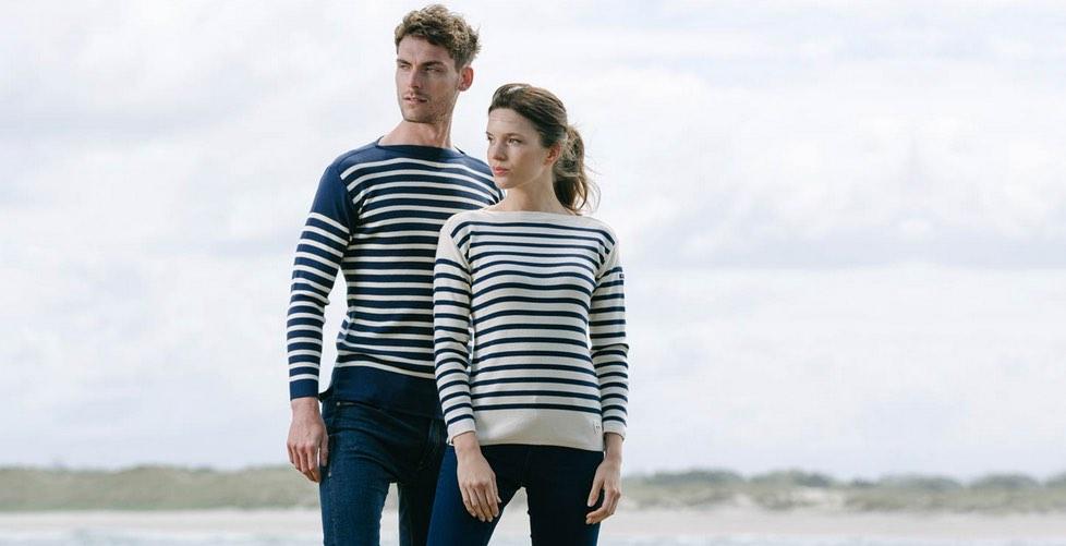 Flileuse d'Arvor fabrique toujours l'intégralité de ses pulls et marinières en France, à Quimper.