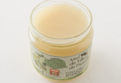 Miel récolté en France, en Picardie, chez L'Epicerie ordinaire