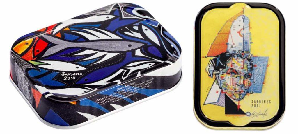 Le sardines millésimées, vendues par La Compagnie Bretonne, sont meilleures que les sardines de l'année.