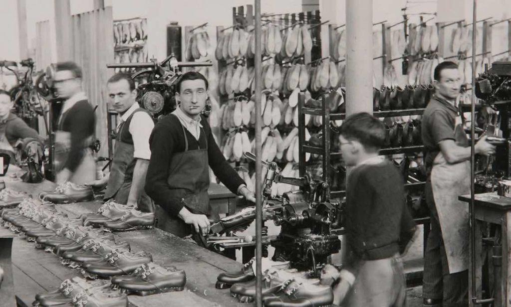 Paraboot fabrique des chaussures en France depuis 1908.