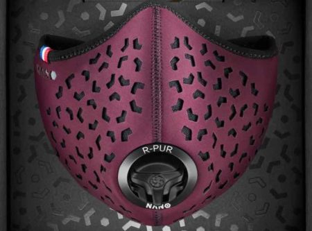 Masque anti-pollution made in France, par R-Pur.