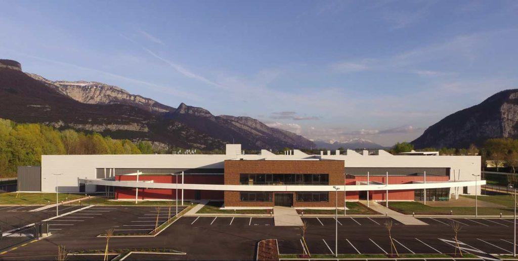 Le site de fabrication de Paraboot, implanté à Saint-Jean-de-Moirans, dans l'Isère.
