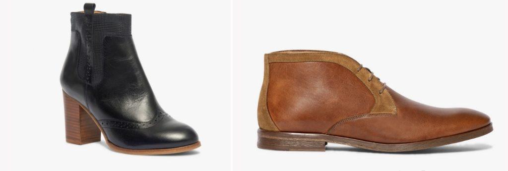 Bottines femme et boots homme fabriqués en France, par Bocage.