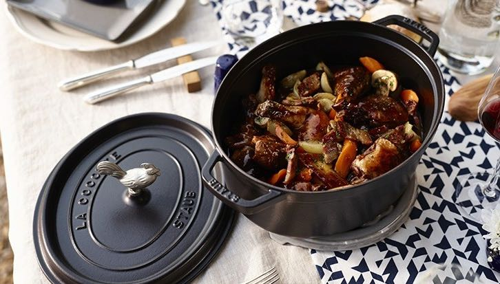 Cocotte en fonte made in France, Staub