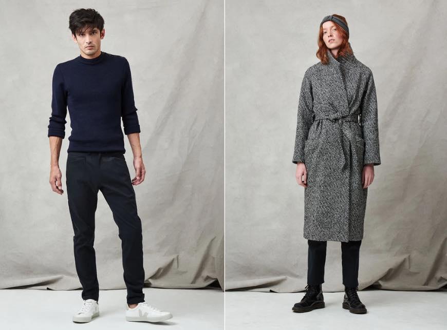 Les Recyclables : vêtements recyclés pour homme et femme fabriqués en France