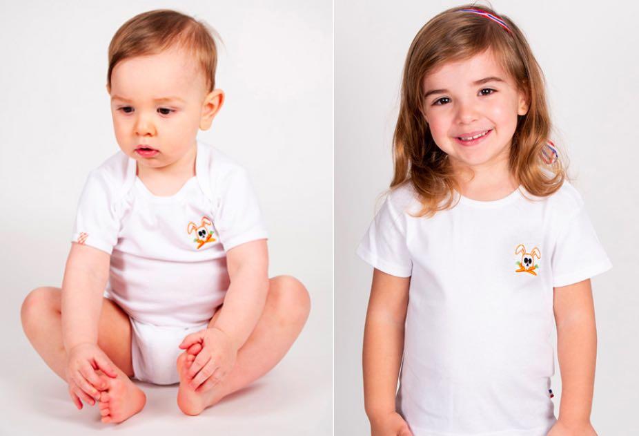 Papate fabrique et commercialise des t-shirts enfant et bébé en coton bio, fabriqués en France.