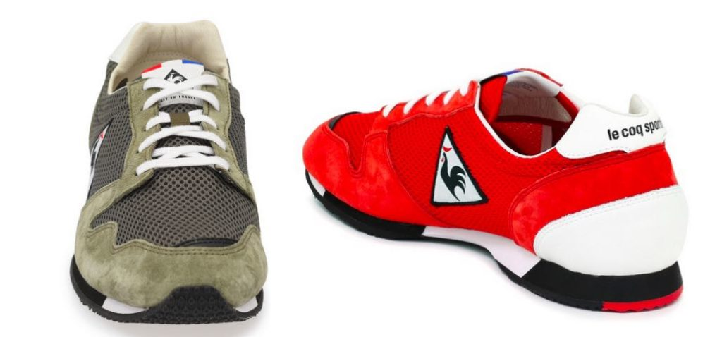 Running mixte made in France, Le Coqsportif