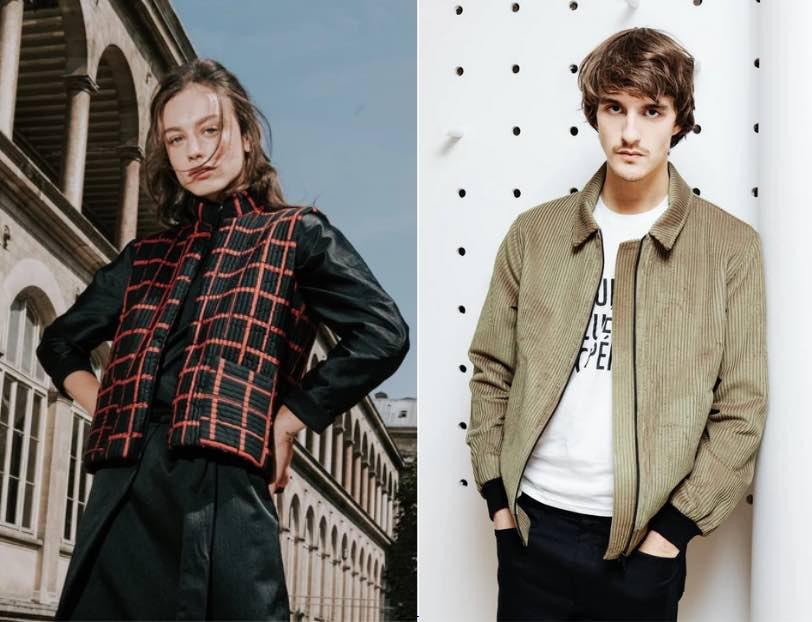 La marque Les Récupérables fabrique en France des vêtements homme et femme en matériaux recyclés.