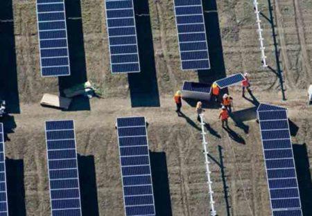Installation de panneuax solaires, Total-SunPower