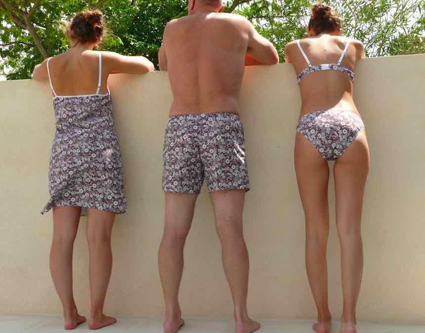 Fleurs Pois & Cie : nouvelles collections de lingerie 100% coton, 100% made in France