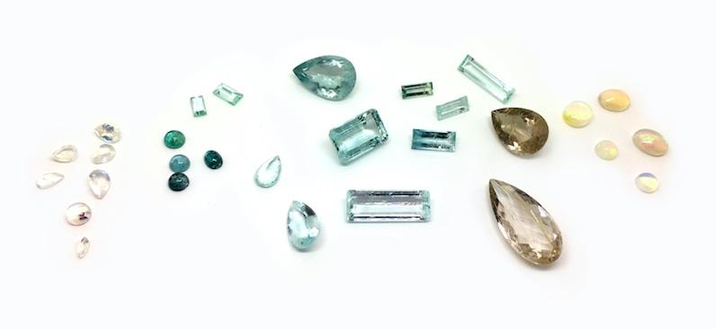 Pierres précieuses, bijoux made in France, Philomène Thebault.