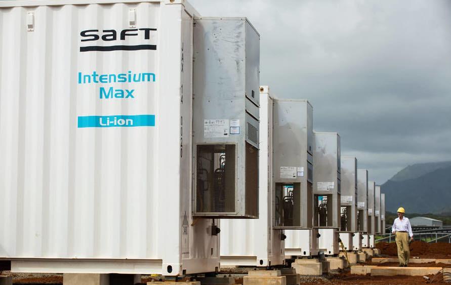 Total va installer la plus grosse installation de stockage d'énergie, à Dunkerque.