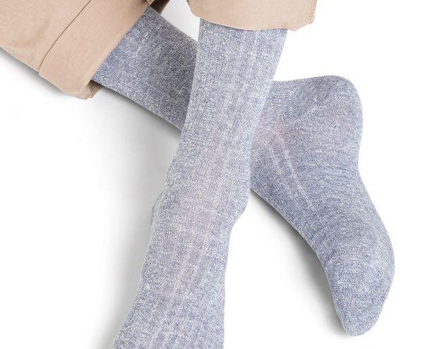 Chaussettes en lin made in France : Bleuforêt offre les frais d'envoi