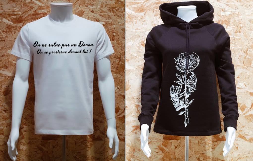 Le Daron : t-shirts et sweat-shirts made in France, pour homme, femme et enfant