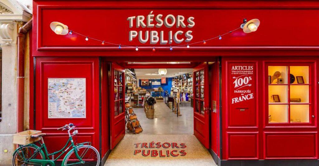 """La boutique niçoise Trésor publics ne commercialise que des produits """"made in France."""""""