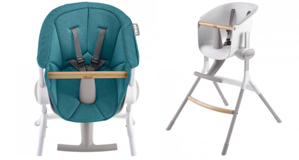 Béaba Up & Down, une chaise haut enfant fabriqués en France.