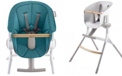 Béaba Up & Down : un jolie chaise haute fabriquée en France