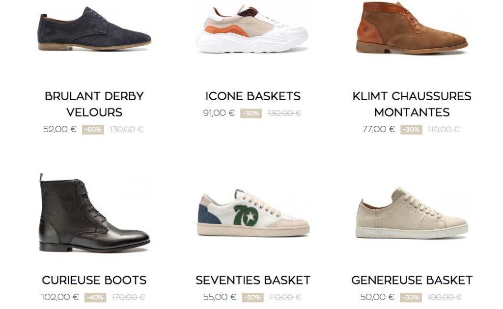 Soldes chaussures made in France, par Kost Paris
