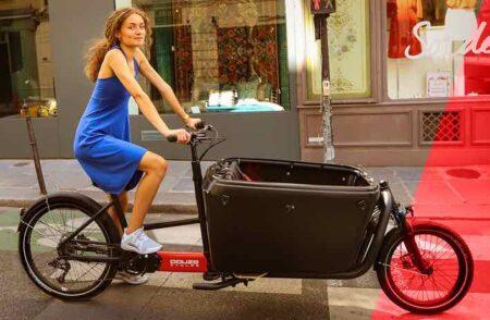 Vélo cargo made in France, par Douze Cycles