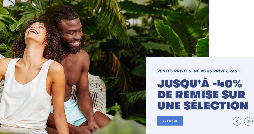 Vêtements made in France : ventes privées chez Le Slip français