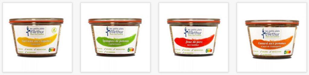 Tous les Petits plates d'Arthur sont fabriqués en France à partir d'ingrédients locaux et sains.