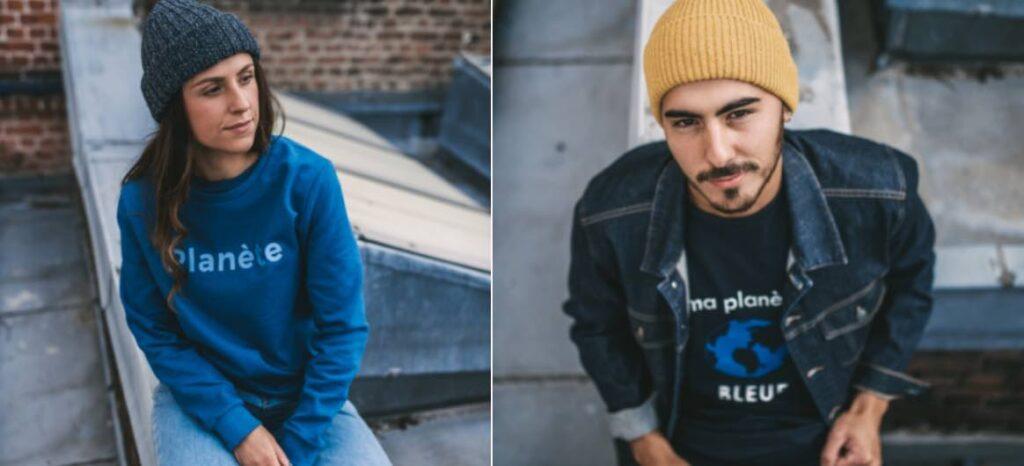 La Getle Factory : T-shirts et sweat-shirts Planète bleue, fabriqués en France.