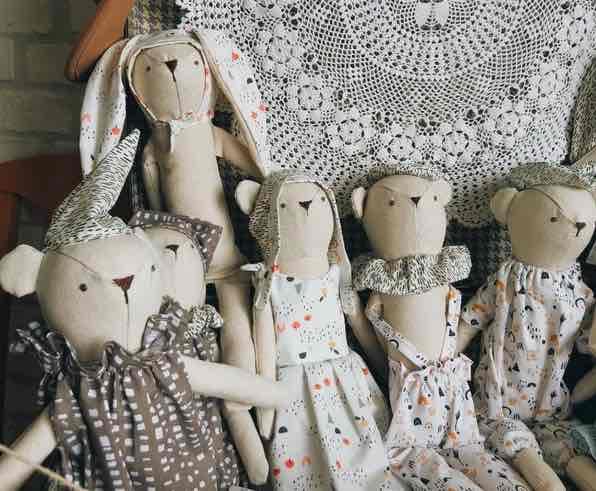 Luna Room : de charmantes poupées en tissu, 100 % made in France