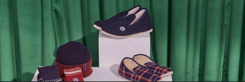 Le Slip français : pantoufles, bonnets, chaussettes et autres petits cadeaux made in France.