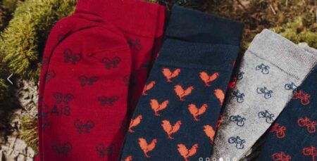 Chaussettes fabriquées en France, par La Gentle Factory