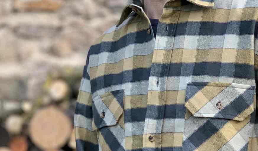 La Chemise à Marcel : chaude, douce, rétro et made in France