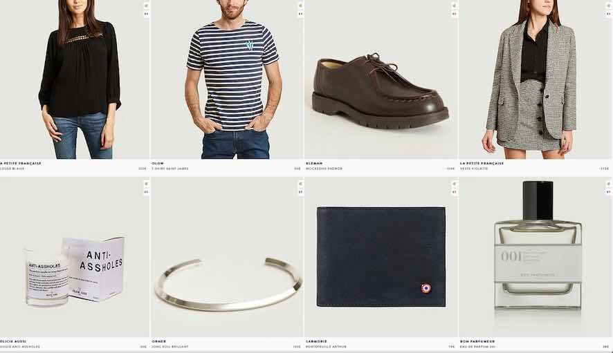 L'Exception : vêtements et accessoires made in France et ailleurs